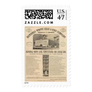 National White Lead and Zinc Company Postage