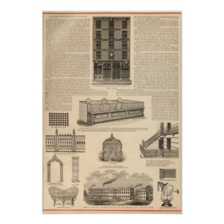 National Wire and Lantern Works, Howard and Morse Poster