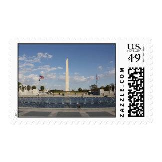 National World War II Memorial Postage Stamp