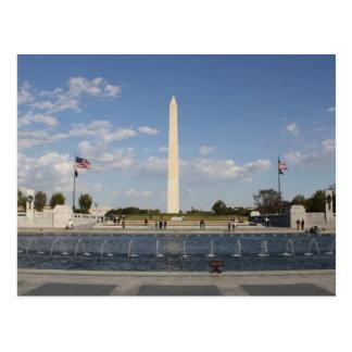 National World War II Memorial Postcard