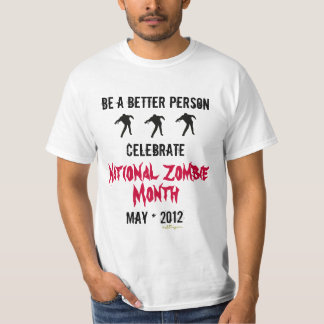 National ZOMBIE Month T-Shirt