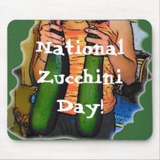 National Zucchini Day! Mouse Pad