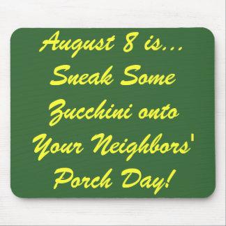 National Zucchini Day! Mouse Mat