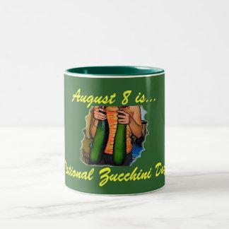 National Zucchini Day! Mug