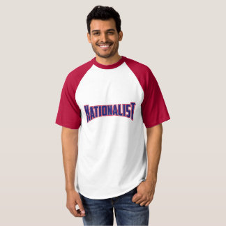 Nationalist - Red White and Blue T-shirt