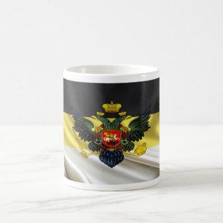 Nationalist Russia Flag Fabric Coffee Mug