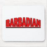"Nationalities - ""Barbadian"" Mouse Mat"