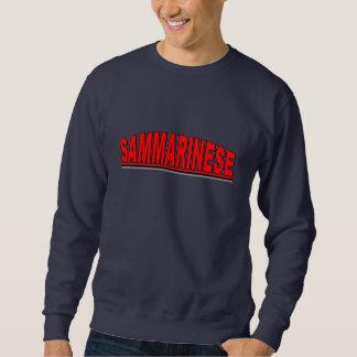 """Nationalities - """"Sammarinese"""" Sweatshirt"""