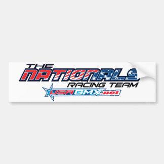 nationals logo bumper sticker car bumper sticker