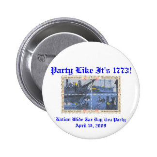 Nationwide Tea Party Button
