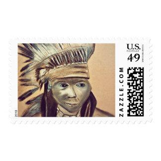 Native4 Medium Postage Stamp $0.49 (1st Class 1oz)