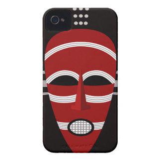 Native African Indian Face Mask Case-Mate iPhone 4 Case