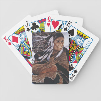 Native Amercian Peacekeeper Bicycle Playing Cards