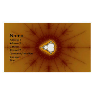 Native America - Fractal Double-Sided Standard Business Cards (Pack Of 100)