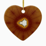 Native America - Fractal Ceramic Ornament