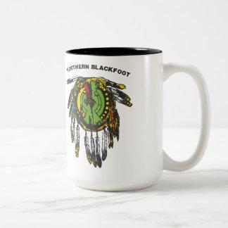 native america vol 1 Two-Tone coffee mug