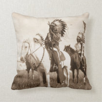 Native American #1 Pillow Cushion