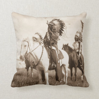 Native American #1 Pillow Cushion
