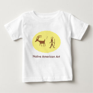 Native American Art, Petroglyphs Baby T-Shirt