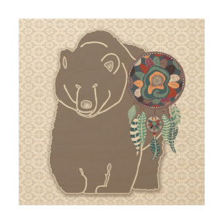 Native American Art Spirit Bear