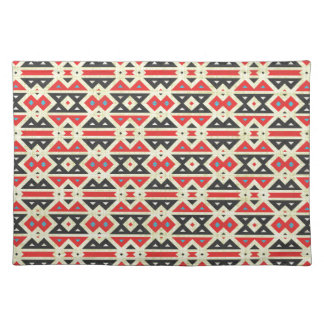 Native American Aztec Fabric Tribal Design Of Place Mat