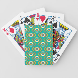 Native American Bead Design Pattern Bicycle Playing Cards