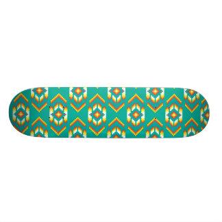 Native American Bead Design Pattern Skateboard
