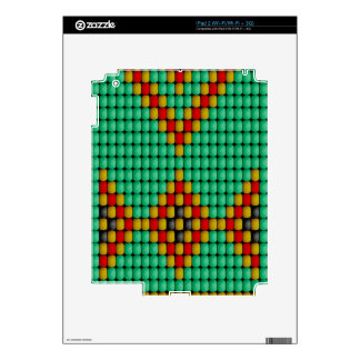 Native American Bead Pattern iPad 2 Skins