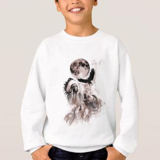 Native American Bear Wolf Eagle Sweatshirt