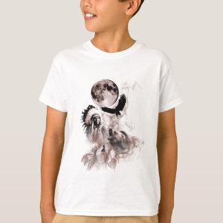 Native American Bear Wolf Eagle T-Shirt