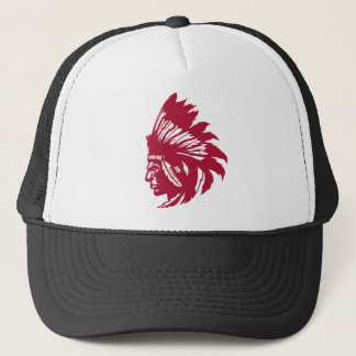 Native American Bird Trucker Hat