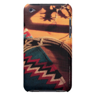 Native American blanket , lasso , and spurs iPod Touch Case