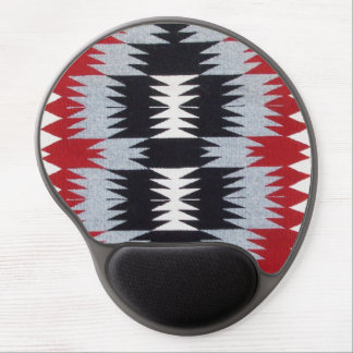Native American Blanket Weaving Gel Mouse Pad