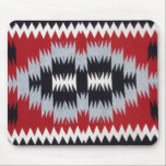 "Native American Blanket Weaving Mousepad<br><div class=""desc"">Beautiful Native American Two Gray Hill Blanket on a mousepad.</div>"