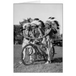 Native American Boys, 1930s Greeting Cards