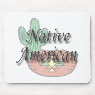 Native American  brown Mouse Pad