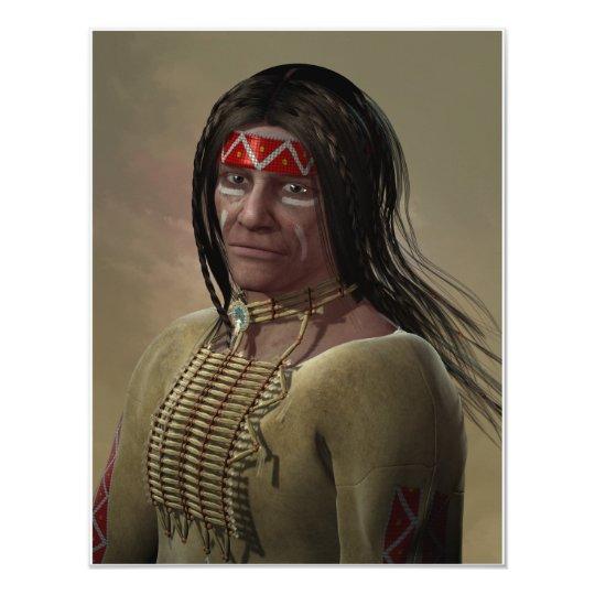 Native American Card