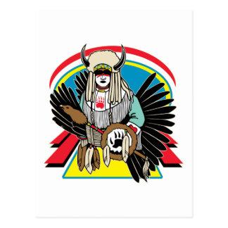 Native American Ceremony Postcards