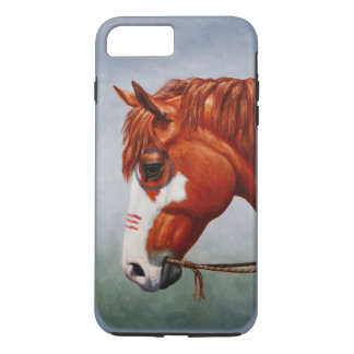 Native American Chestnut Pinto War Horse iPhone 8 Plus/7 Plus Case