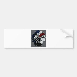 Native American Chief Bumper Stickers