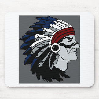 Native American Chief Mouse Pads