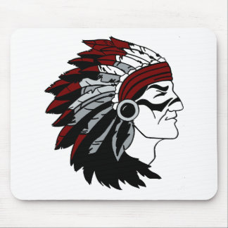 Native American Chief Mousepads