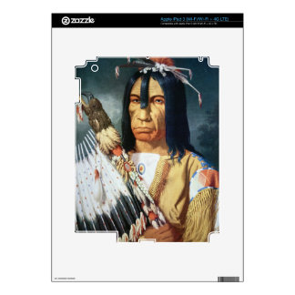 Native American Chief of the Cree people of Canada iPad 3 Skins