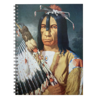 Native American Chief of the Cree people of Canada Notebook