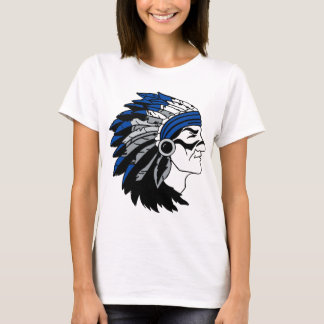 Native American Chief with Red Headress T-Shirt