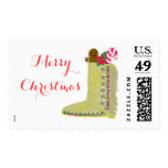 Native American Christmas Stocking Stamps