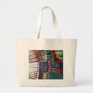 Native American Church Fans, coffee cup, shirts Large Tote Bag