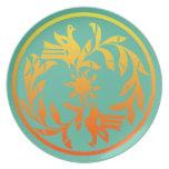 Native American Cochiti Design Plate