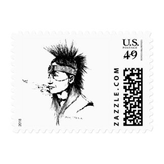 NATIVE AMERICAN COLLECTION STAMP