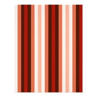 Native American Color Stripes - 1 Letterhead